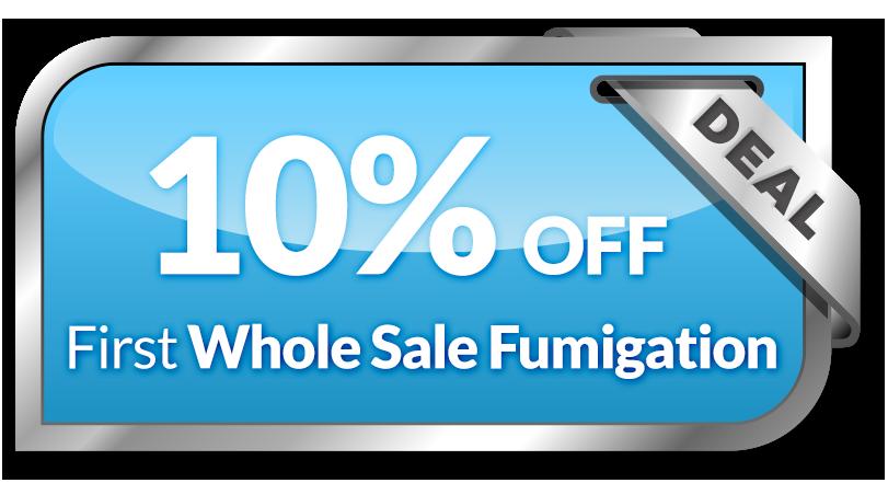 Whole Sale Fumigation Coupon - US Fume